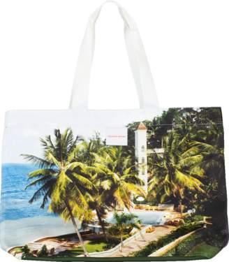 Orlebar Brown Clyde Beach Club Print Tote Bag