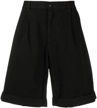 Emporio Armani cotton Bermuda shorts