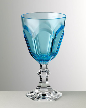 Dolce Vita Mario Luca Giusti Turquoise Water Goblet