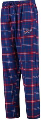 Buffalo David Bitton Unbranded Men's Concepts Sport Royal Bills Ultimate Plaid Flannel Pajama Pants
