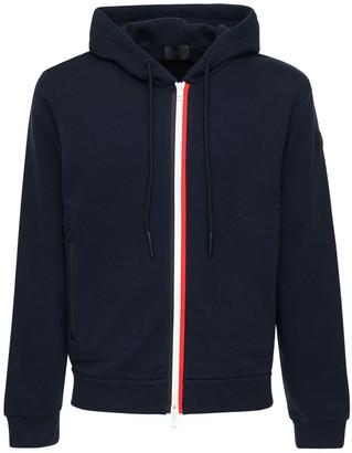 Moncler Cotton Zip-Up Sweatshirt Hoodie