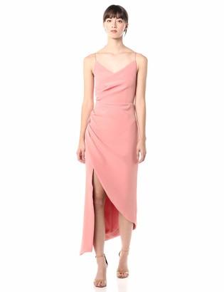 Keepsake Women's Finale Sleeveless Side Ruched Midi Dress