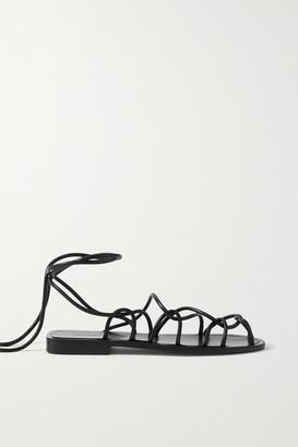 KHAITE Lyon Leather Sandals