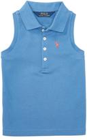 Ralph Lauren French Blue Sleeveless Polo - Toddler & Girls