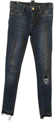 Zoe Karssen Blue Cotton - elasthane Jeans for Women
