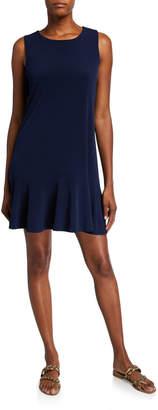 Julie Brown Ryder Flounce-Hem Jersey Tank Dress