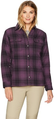 Wolverine Women's Rosewood Sherpa Lined Shirt Jac