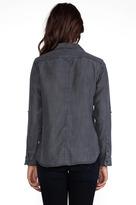 C&C California Textured Chambray Two Pocket Shirt