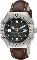 Momentum Men's 1M-SP24B3C Format 4 Brown Wasser Leather Watch