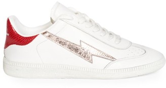 Isabel Marant Bryce Thunder Leather Sneakers