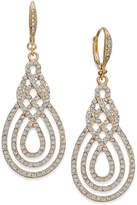 INC International Concepts Pavé Open Saturn Drop Earrings, Created for Macy's