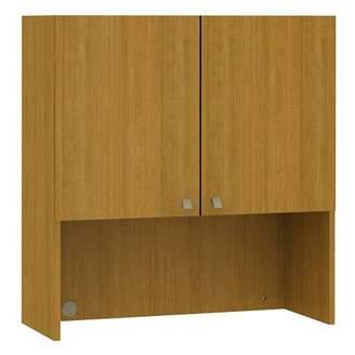 """Bush Business Furniture Quantum 37.01"""" H x 35.35"""" W Desk Hutch Bush Business Furniture Finish: Modern Cherry"""