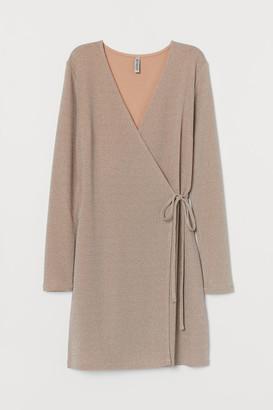 H&M Wrap Dress - Beige