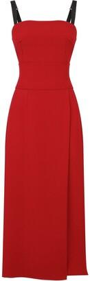 Dolce & Gabbana Cady slit midi dress