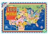 Eeboo Toddler Usa Jigsaw Puzzle