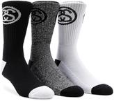 Stussy 3-Pack SS Link Premium Socks