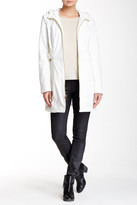 Via Spiga Zip Front Hooded Walker Jacket