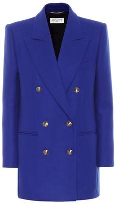 Saint Laurent Wool and cashmere blazer