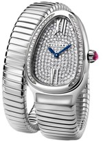 Bulgari Serpenti Tubogas spw35d2gdg.1t 18K White Gold Watch