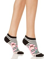 Kate Spade Stripe Monkey No-Show Socks