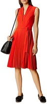 Karen Millen Pleated Dress