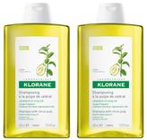 Klorane Shampoo with Citrus Pulp - Clarifying (Set of 2) (13.5 OZ)