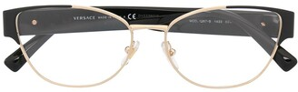Versace Oval-Frame Glasses