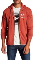 RVCA Double Hex Front Zip Hooded Jacket