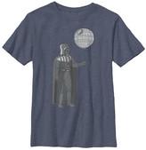 Fifth Sun Boys' Tee Shirts NAVY - Star Wars Dark Vader Navy Heather Death Balloon Tee - Boys