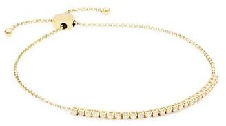 My Story The Pixie 14K Yellow Gold & Diamond Slider Bracelet