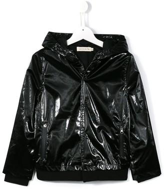 Andorine Textured Hooded Jacket