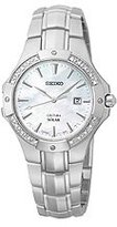Seiko Women's SUT123 Analog Display Japanese Quartz Silver Watch