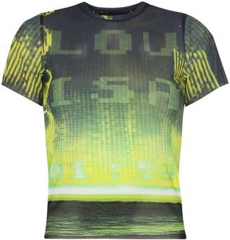Louisa Ballou graphic-print T-shirt