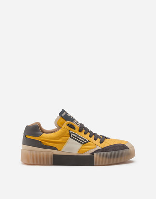 Dolce & Gabbana Mixed-Material Miami Sneakers