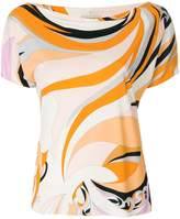 Emilio Pucci all-over print blouse