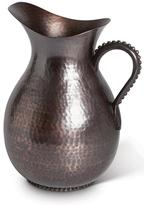 GG Antique Copper Hammered Metal Pitcher