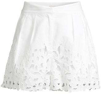 Rebecca Taylor Ella Eyelet Shorts