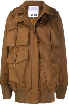 Kenzo Oversized Cargo Jacket