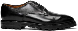Officine Creative Black Aspen 1 Derbys