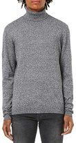 Topman Men's Marled Turtleneck Sweater