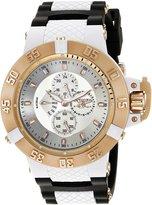 Invicta Men's 17125 Subaqua Analog Display Quartz Black Watch