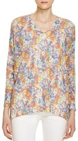 Nally & Millie Floral Print Sweater - 100% Bloomingdale's Exclusive
