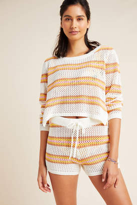 L-Space L Space Horizon Crocheted Cover-Up Shorts