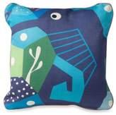 Nurseryworks Nursery Works Wee Gallery Organic Cotton Oceanography Seahorse Toddler Pillow