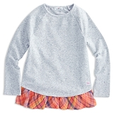 Vineyard Vines Girls' Plaid Ruffle Top - Little Kid, Big Kid