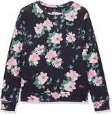 Gant Girl's Flower Crew Sweatshirt,(Manufacturer Size: 98/104)