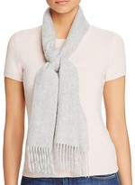 C by Bloomingdale's Solid Cashmere Scarf