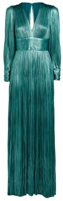 Maria Lucia Hohan Lidia Plisse Gown