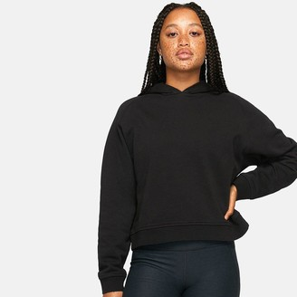 Outdoor Voices Cotton Terry Cropped Hoodie