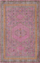 The Well Appointed House Surya Zahra Rug in Fuchsia, Camel, Green, Orange and Eggplant-Available in a Variety of Sizes